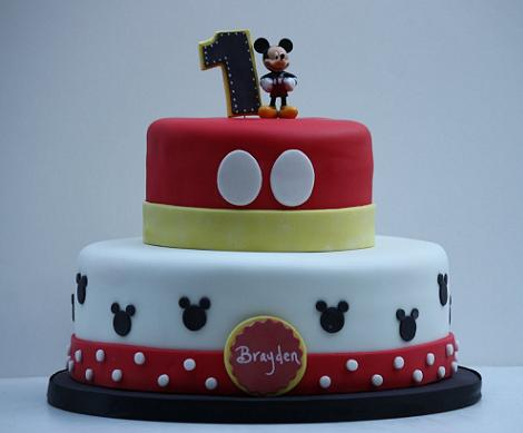 Tartas de Mickey Mouse