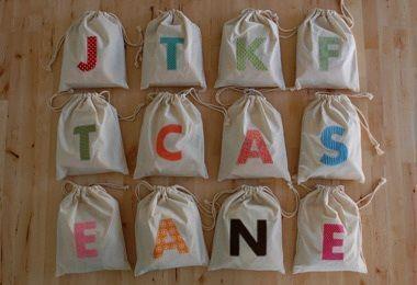 bolsas cumpleanos letras