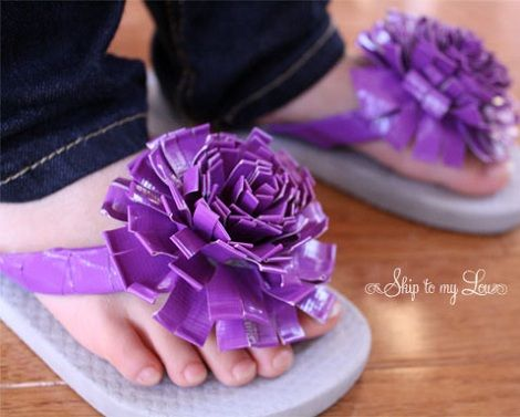 chanclas decoradas flores resultado