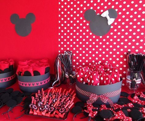 cumpleanos minnie mouse orejas