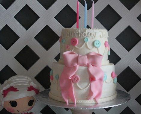 cumpleanos munecas tarta