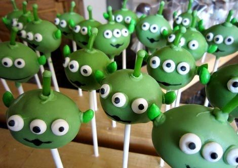 cumpleanos toy story cake pops