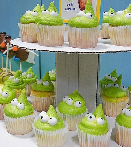 cumpleanos toy story cupcakes