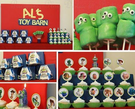 cumpleanos toy story dulces