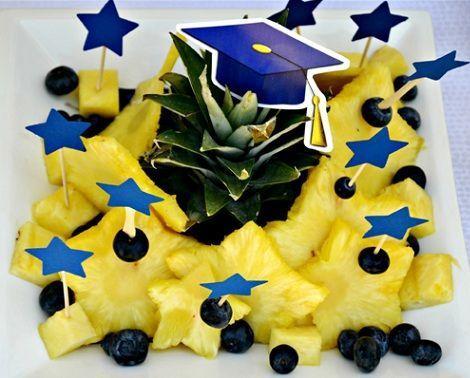 fiesta fin de curso fruta