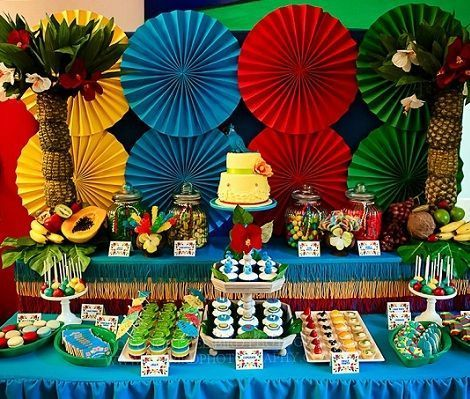 Fiesta tropical ideas - Imagui