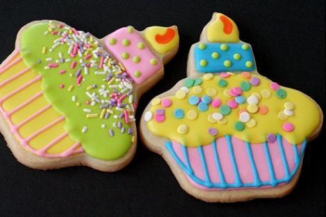 Galletas de cupcakes