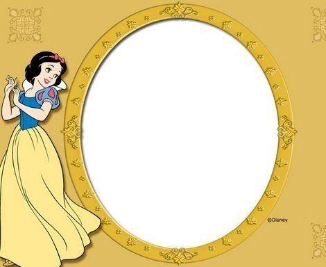 invitaciones cumpleanos princesas disney blancanieves