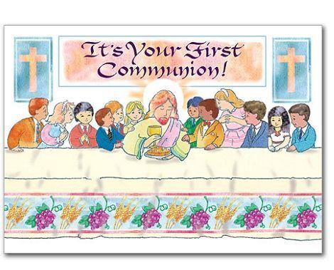 invitaciones para comunion mesa