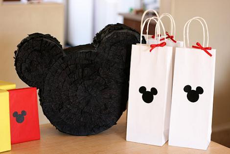 Piñatas caseras: Mickey Mouse