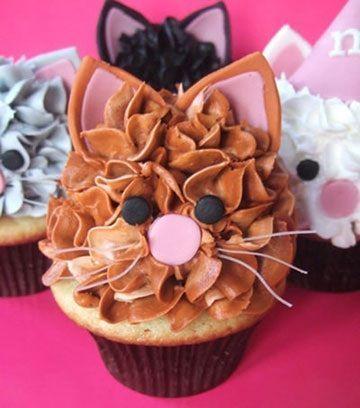 postres caseros animales cupcakes gatos
