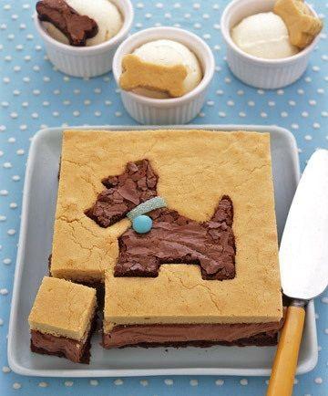 postres caseros animales tarta perrito