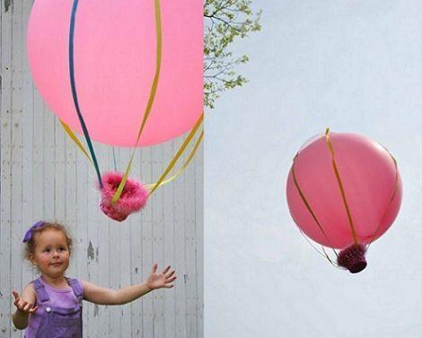 actividades verano ninos globos