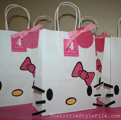 bolsas regalo de Hello Kitty