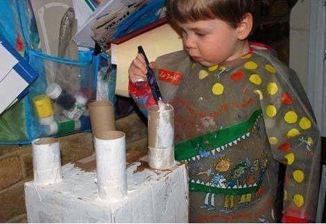 castillo rollos de papel pintar