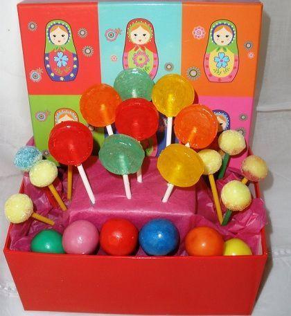 centros de mesa infantiles chuches piruleta
