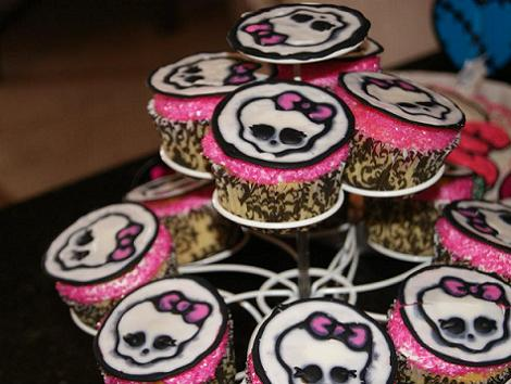 Fiesta Monster High  Cupcakes