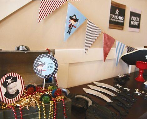 fiesta piratas cake disfraces
