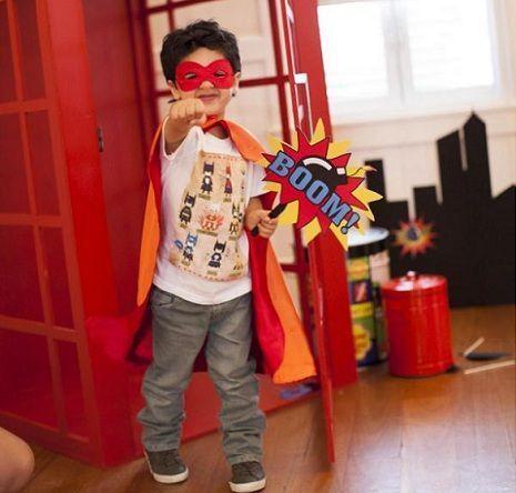 fiesta superheroes disfraz