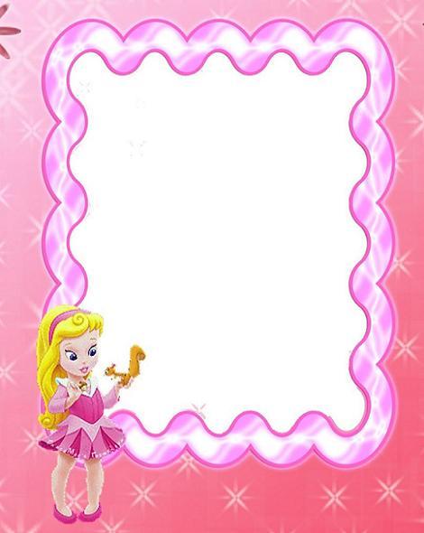 Invitación Princesa Rosa