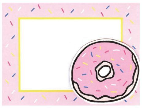 invitaciones cumpleanos divertidas rosquilla