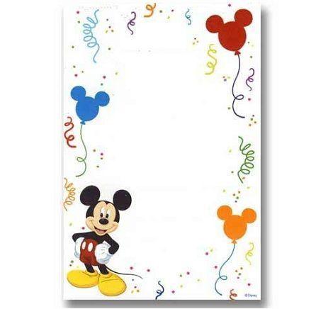invitaciones cumpleanos mickey mouse