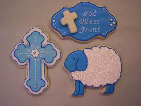 Originales galletas de bautizo
