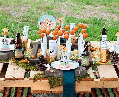 Picnic en el jard n - Platos para picnic ...
