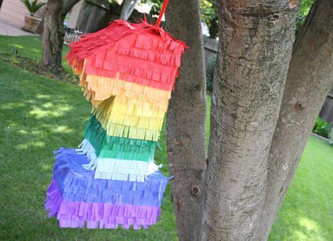 piñata casera cumpleaños 1 año