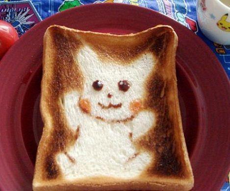 sandwiches dibujos pikachu
