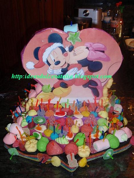 tarta chuches Mickey Mouse