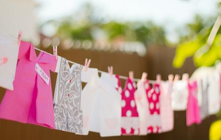Vestiditos baby shower