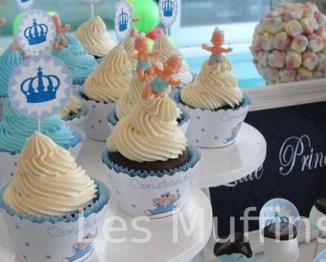 bautizo nino cupcakes