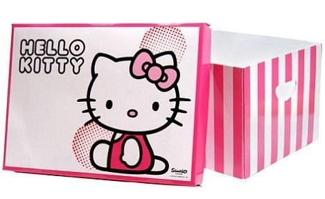 caja regalo hello kitty