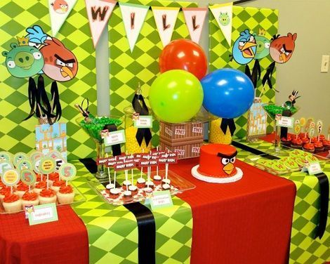 No Te Pierdas Estas Ideas Para Celebrar Tu Plea  Os De Angry Birds