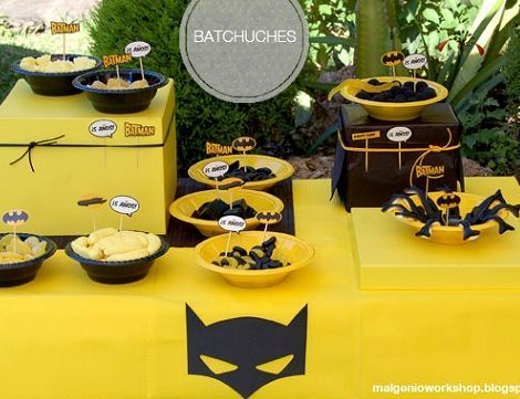 cumpleanos batman chuches