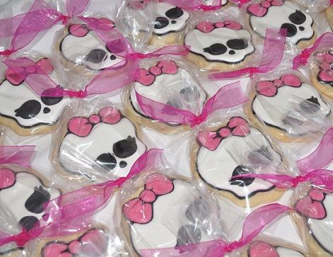 cumpleanos monster high cookies