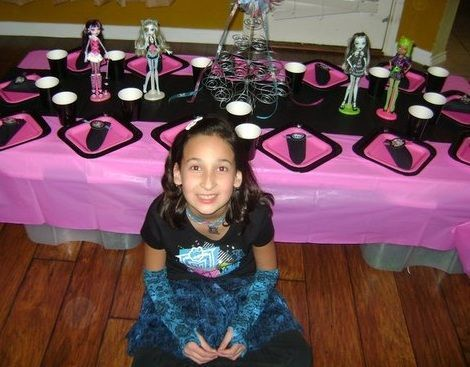 cumpleanos monster high