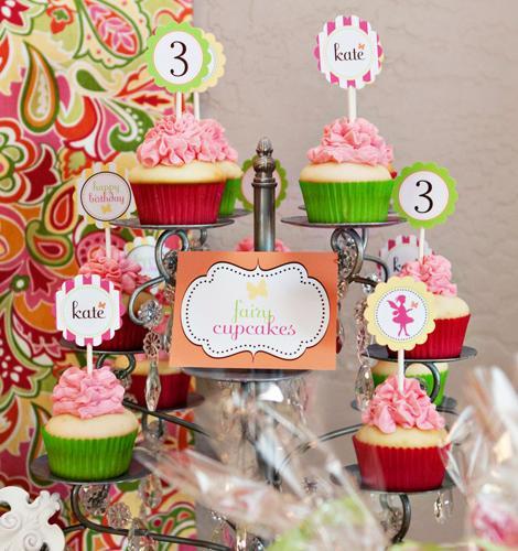 Cupcakes de hadas