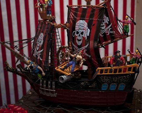 fiesta pirata barco