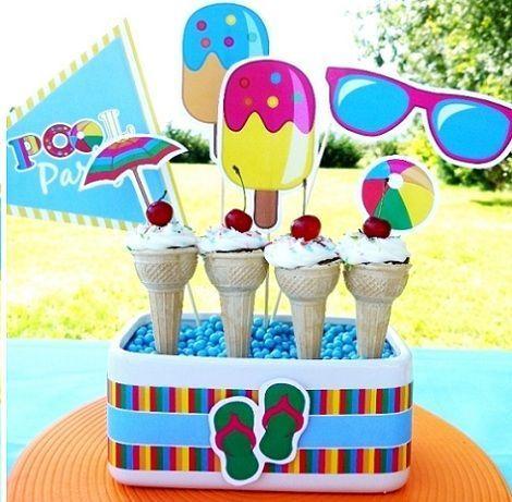 fiesta piscina helados