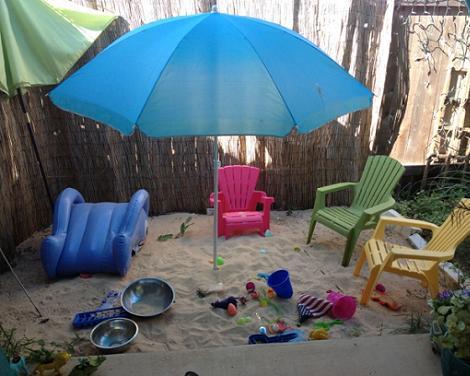 fiesta playa para niños