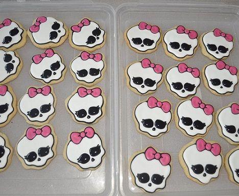galletas monster ojos