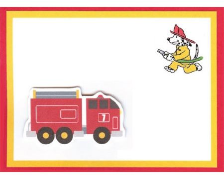 invitaciones cumpleanos bomberos
