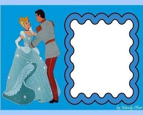 invitaciones princesas cenicienta bailando