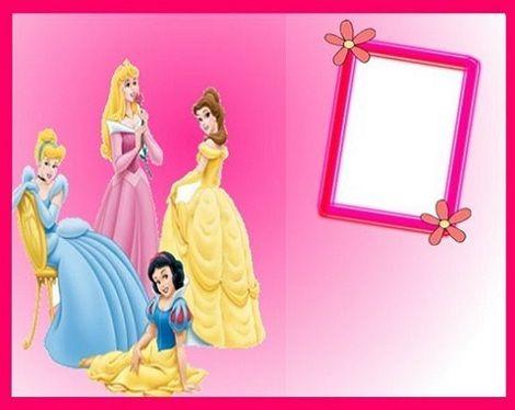 invitaciones princesas