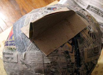 pinata casera pez carton