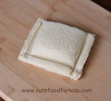 sandwich para ninos pan