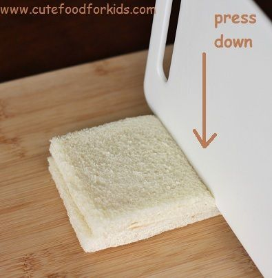 sandwich para ninos presionar
