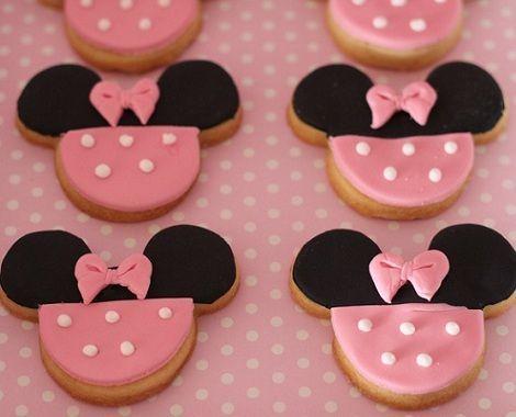 segundo cumpleanos minnie mouse cookies